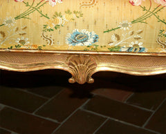 Hepplewhite Giltwood Stool