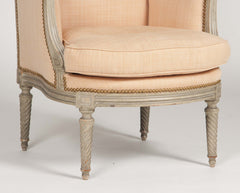 A French Louis XVI Style Bergere