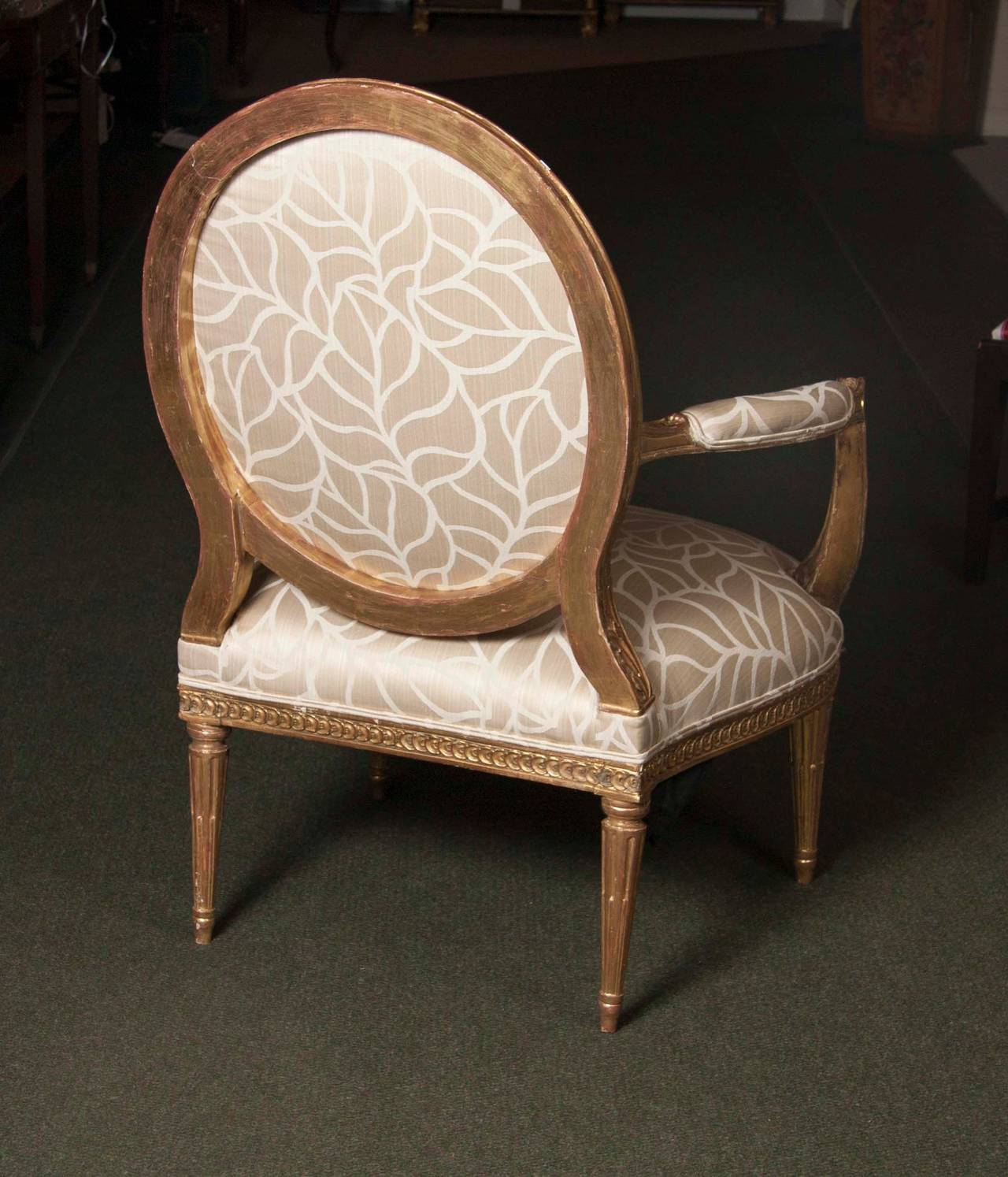 Pair of Louis XVI Style Fauteuils – Avery & Dash Collections
