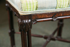 Pair of Chinese Chippendale Benches