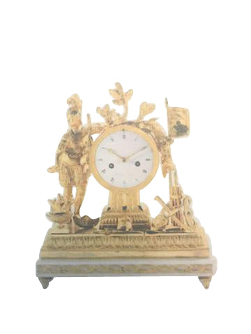 A Good Late 18th Century French Ormolu Mantle Clock