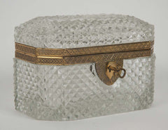 Baccarat Cut Crystal Box