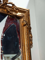 French Gilt Wood Mirror