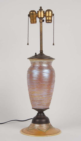 Durand Art Glass Lamp