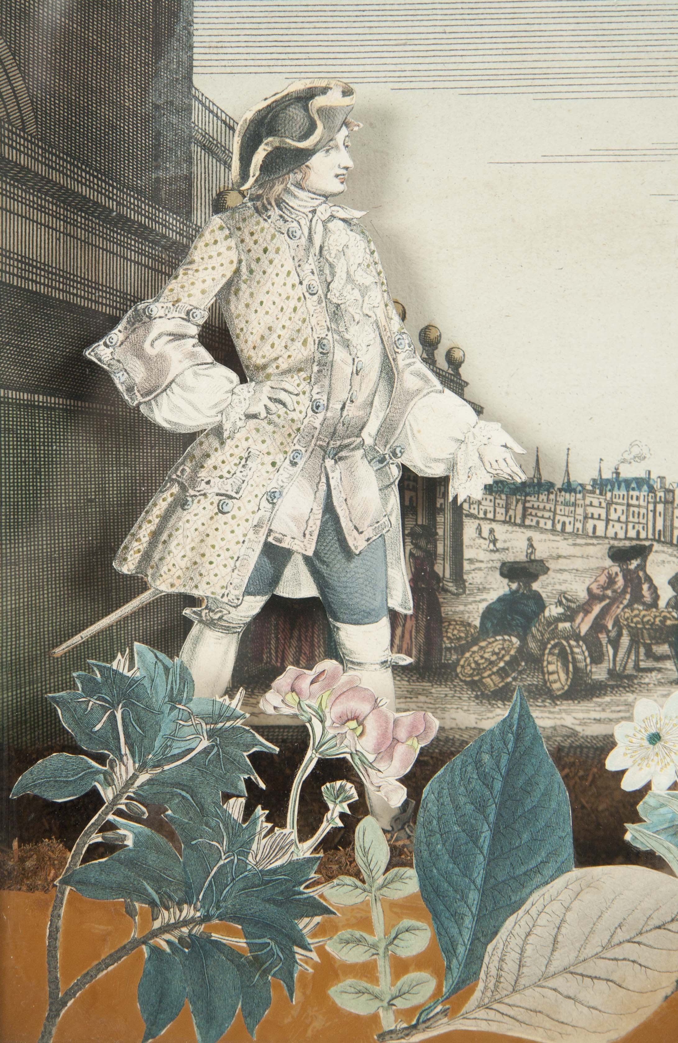 18th Century Louis XV French Diorama