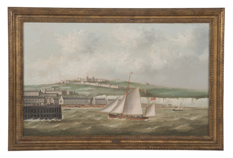 Oil On Canvas by British Marine Artist George Mears
