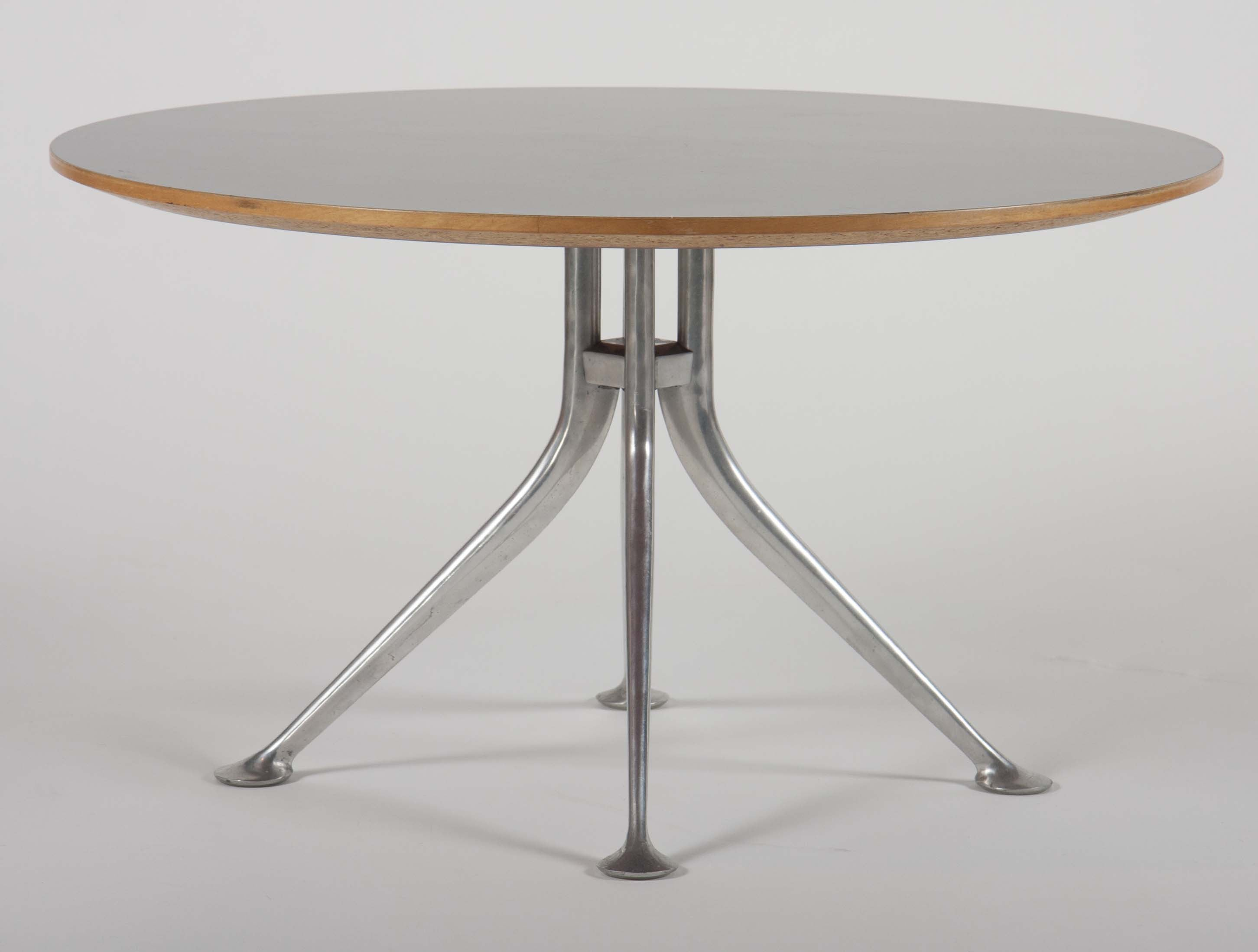 Rare Alexander Girard Round Coffee Table for Herman Miller – Avery