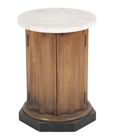Vintage American Fluted Column Table