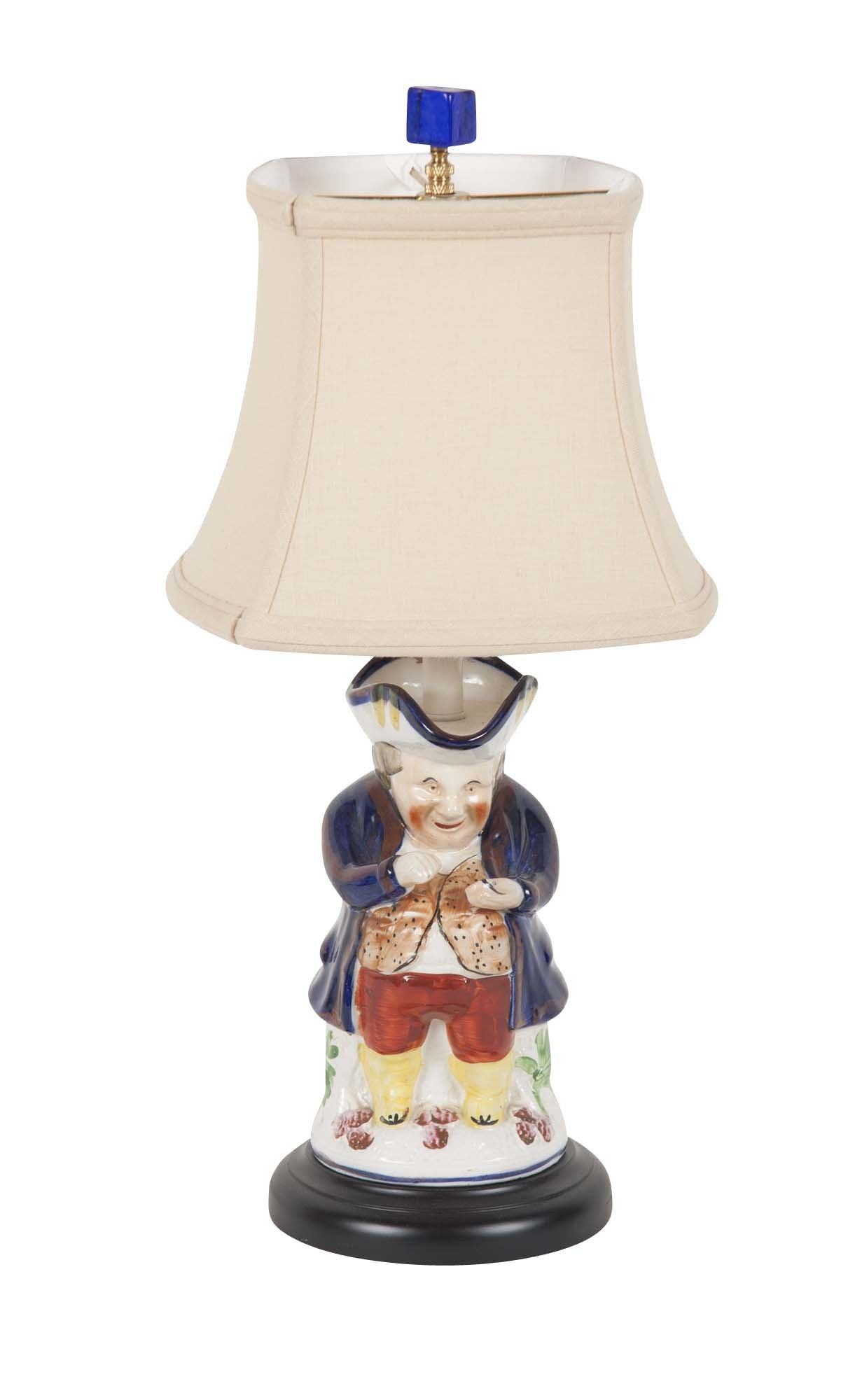 Antique Toby Jug as a Lamp