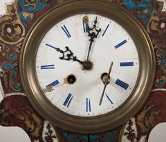 19th Century Boulle Style Mantel Clock