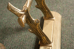 English Brass Fireplace Fender