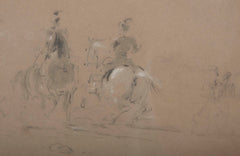 Two Drawings by Sir James Stewart