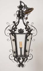 French Iron Lantern
