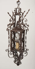 18th Century Venetian Wrought Iron Lantern