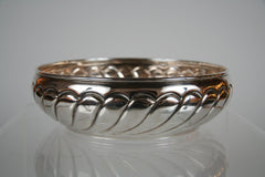 An 800 Silver Serving Bowl with Hallmarks