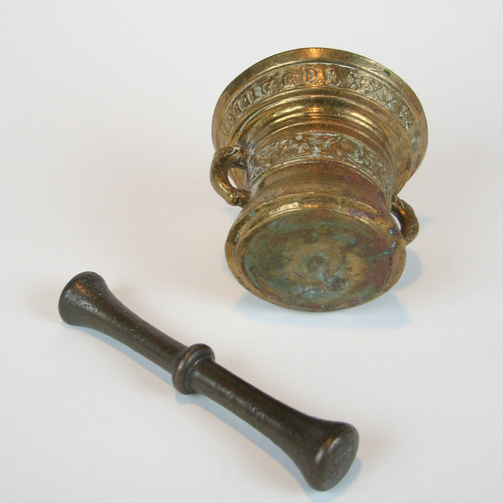 A 19th Century Bronze Mortar and Pestle