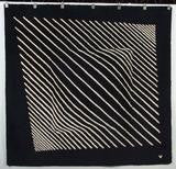 Hand Knotted Wool Tapestry after Victor Vasarely