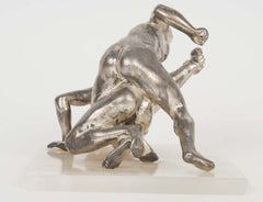 Grand Tour Italian Silvered Bronze