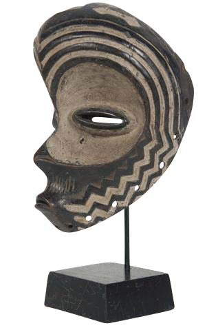 African Bena Luna Tribal Mask