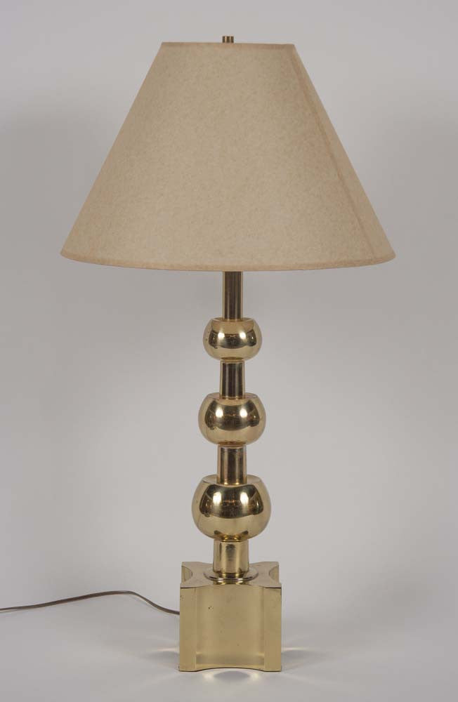 Tommi Parzinger Brass Lamp for Stiffel