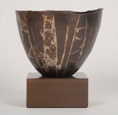 A Patinated Dinanderie Vase   from the Cleveland Institute.