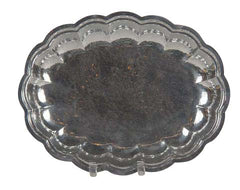 Hand Wrought Aluminum Tray by Cellini Craft