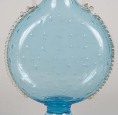 Bubble Art Glass Vase