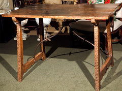 17th Century Spanish Trestle Table