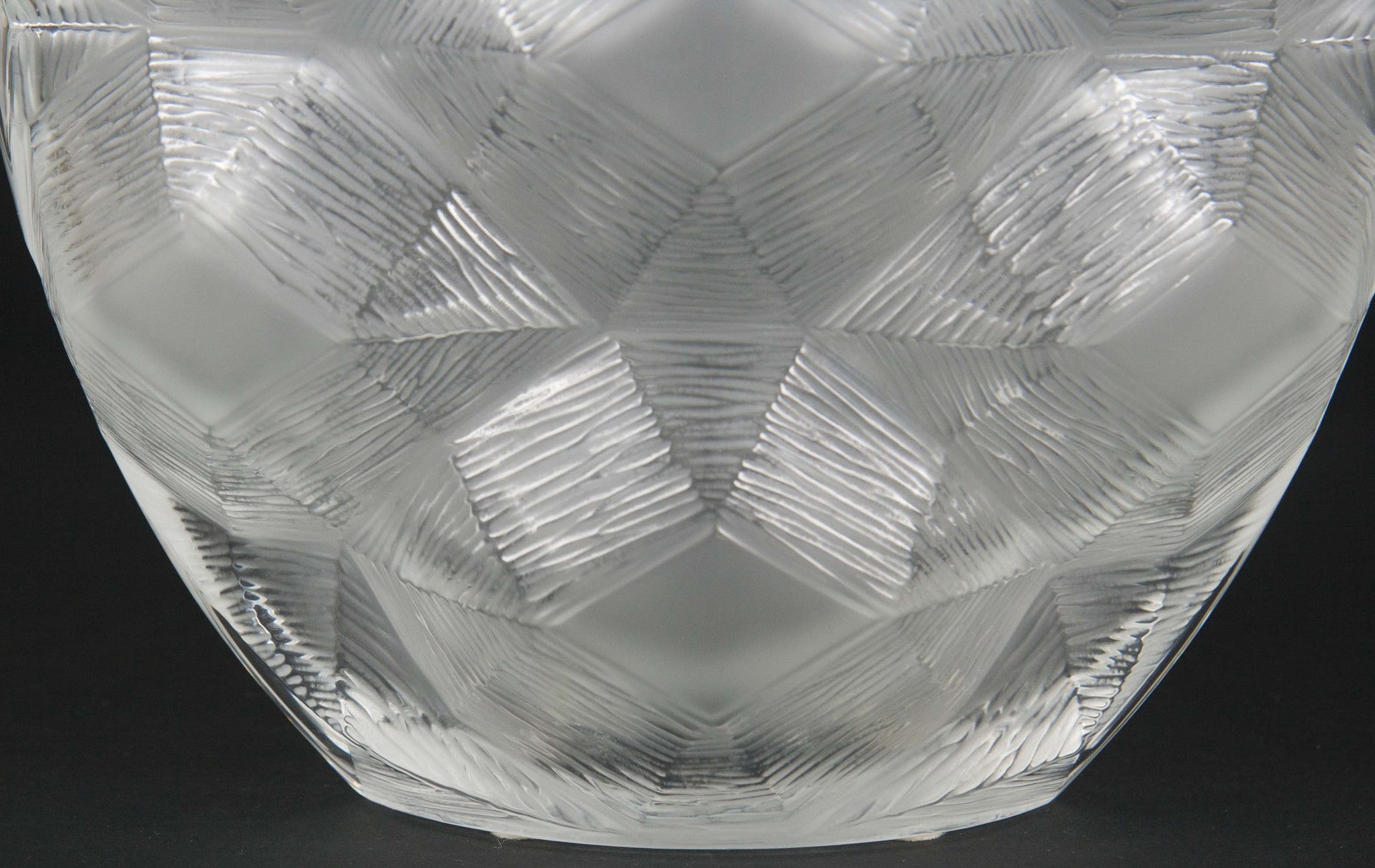 Frosted Lalique Vase