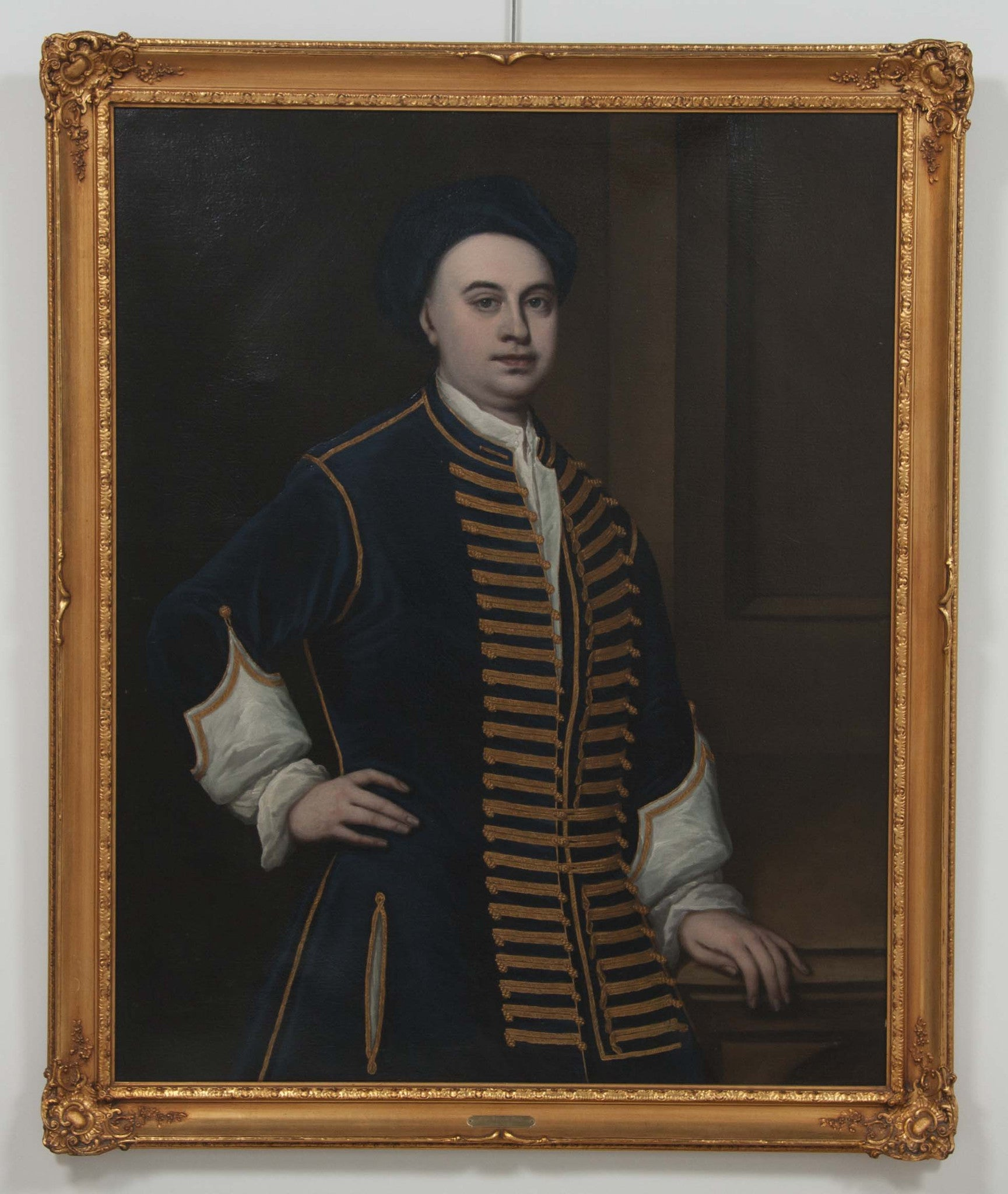 Early 18th Century British Portrait of a Gentleman