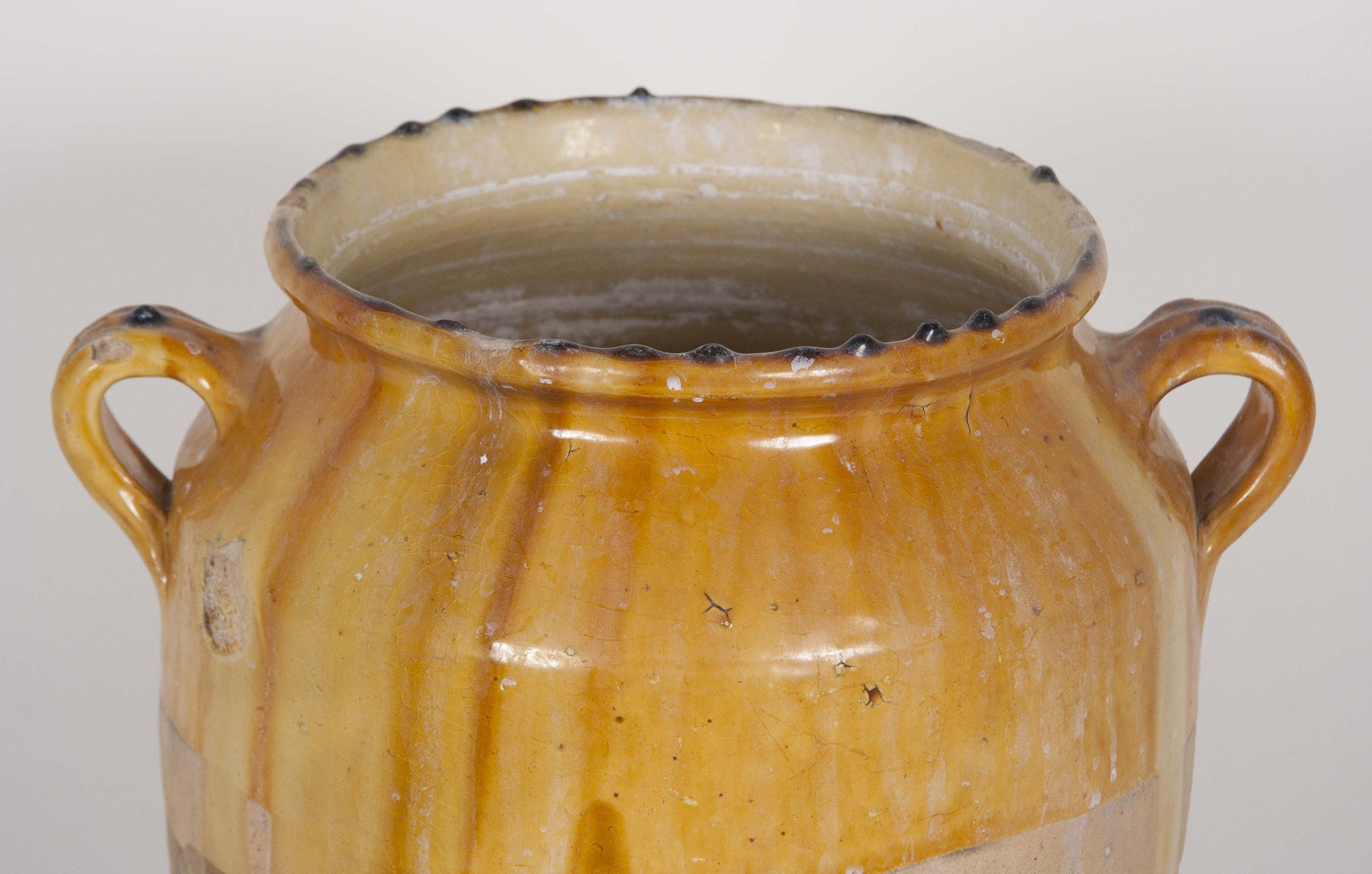 Large French Country Confit Pot