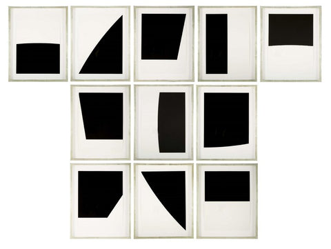 Ellsworth Kelly Mallarme Suite of 11 Lithographs