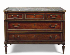 A Bronze Mounted Louis XVI Commode of Exceptional Quality
