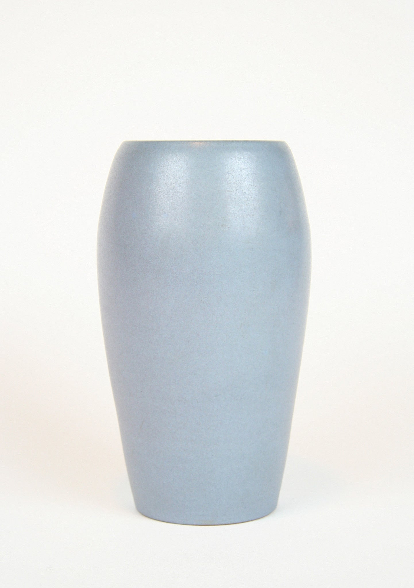 A Large Marblehead Pottery Grey/Lavender Glazed Vase