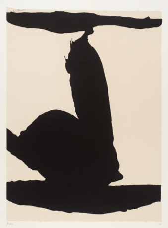 Silkscreen by Robert Motherwell