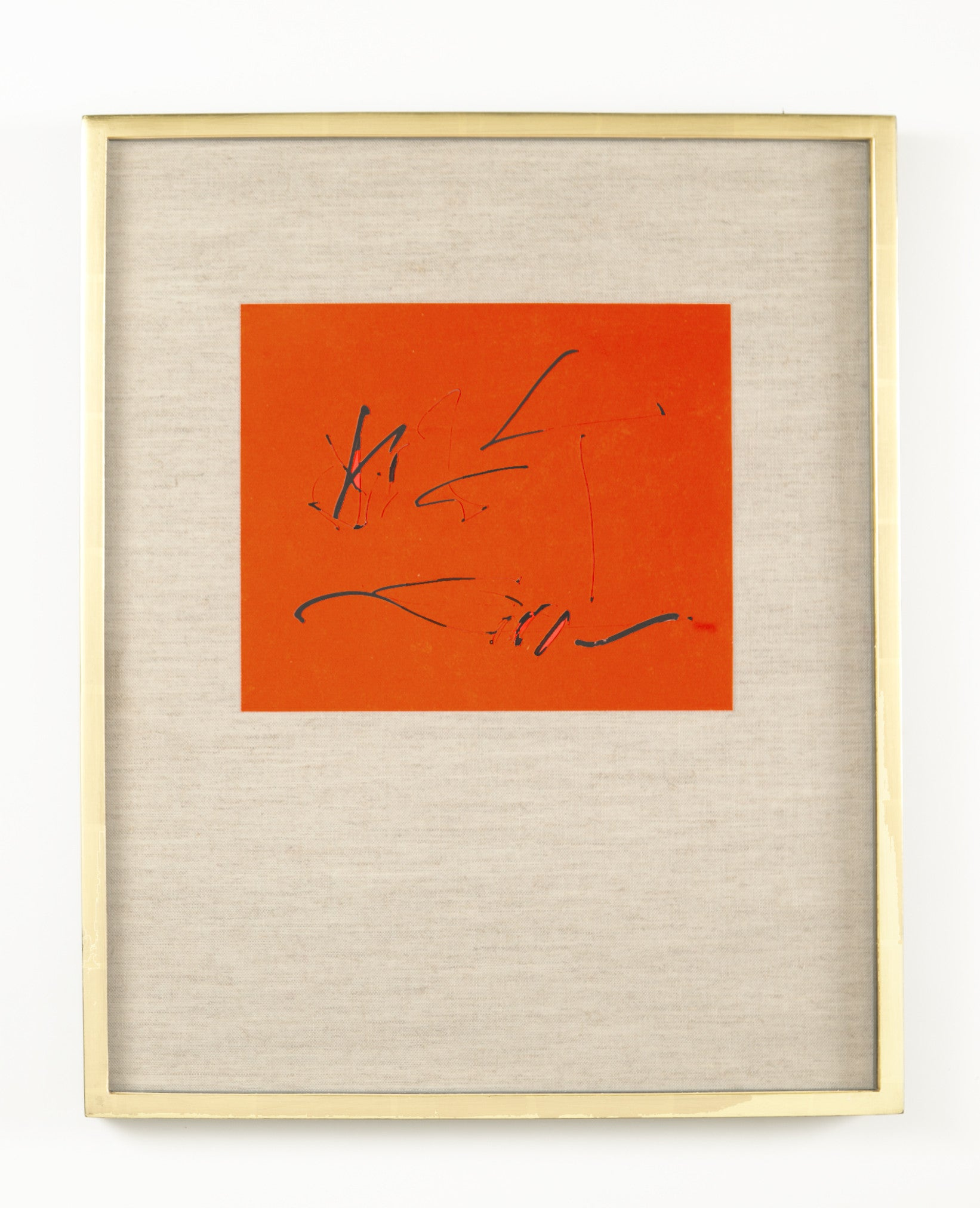 Robert Motherwell and Octavio Paz Three Poems Cover Lithograph