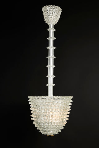 Rostrato Lantern / Chandelier by Barovier and Toso, Italy,
