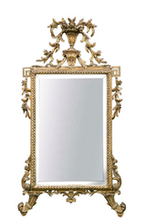 18th Century Italian Neo-Classical Gilt Wood Mirror