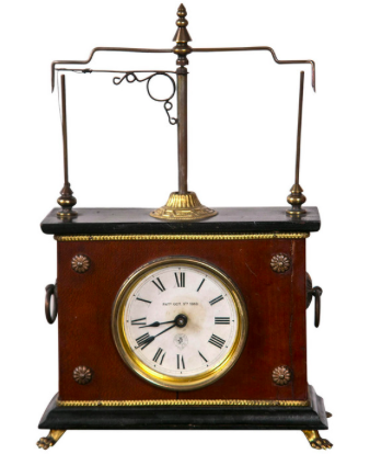"Jerome Company ""Flying Ball"" Clock"