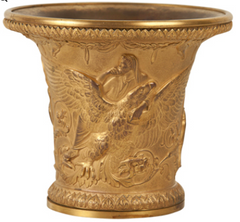 French Bronze D'ore Vase