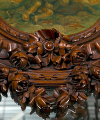 Carved Trumeau Wall Mirror