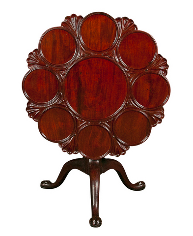 English Tilt Top Tea Table