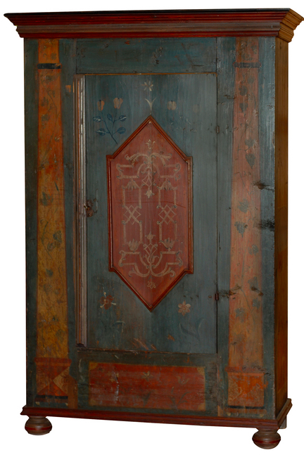 Scandinavian Painted Armoire