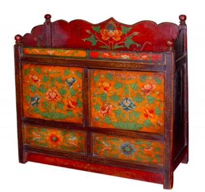 Tibetan Painted Chest