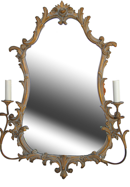 Pair of French Mirror Sconces