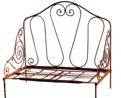 Pair of Wrought Iron Day Beds