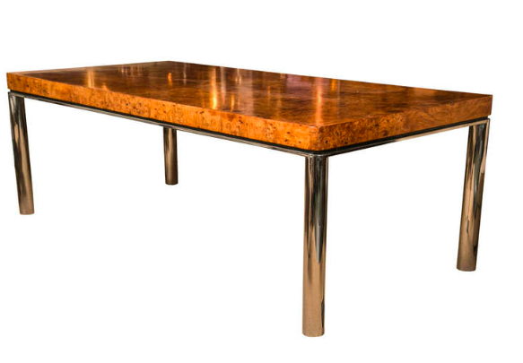 Dining Table in the Manner of Milo Baughman