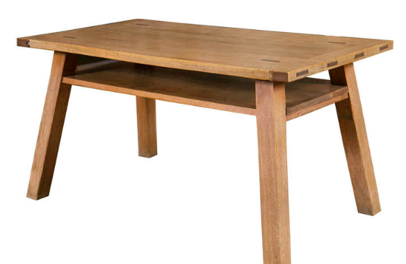 Elm Table by Stanley Webb Davies