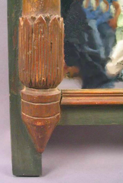 Danish Painted Mirror