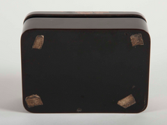Japanese Black-Lacquer Box